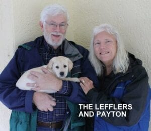 The Leffler family and Payton