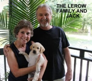 The Lerow family and Jack