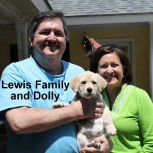 The Lewis family and Dolly