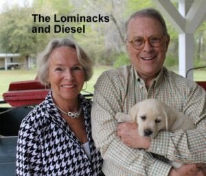 The Lominack family and Diesel