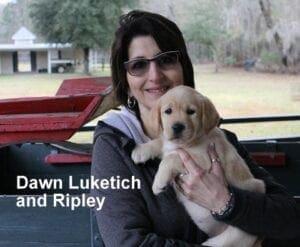 Dawn Lukeitch and Ripley
