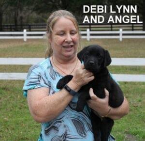 Debi Lynn and Angel