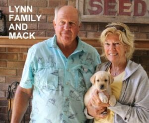 The Lynn family and Mack