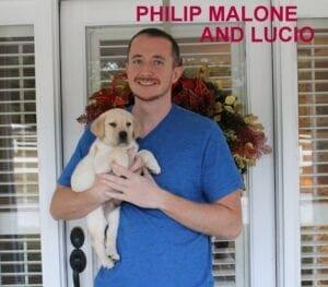 Philip Malone and Lucio
