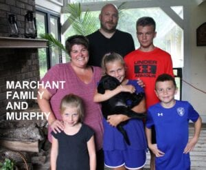 The Marchant family and Murphy