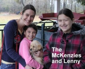 The McKenzie family and Lenny