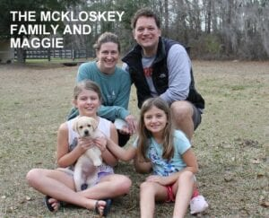 The McKloskey family and Maggie