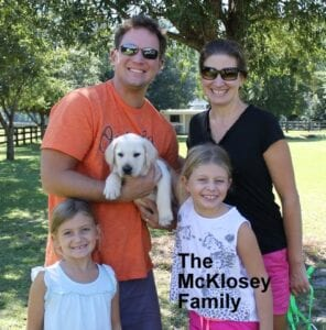 The McKloskey family