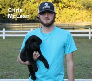 Chris McLean and his dog