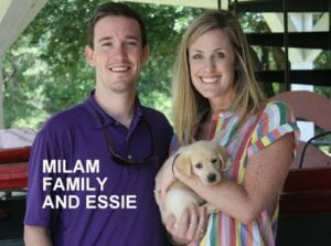 The Milam family and Essie