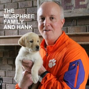 The Murphy family and Hank