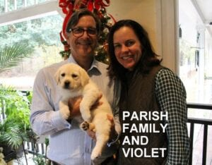 The Parish family and Violet