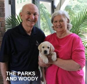 The Parks family and Woody