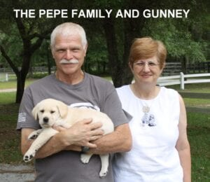 The Pepe family and Gunney