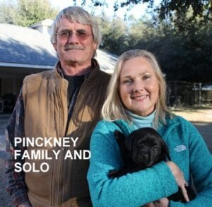 The Pinckney family and SOlo
