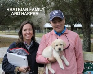 The Rhatigan family and Harper