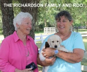 The Richardson family and Roo