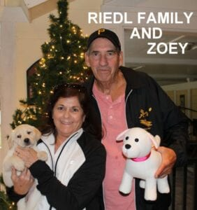 The Riedl family and Zoey