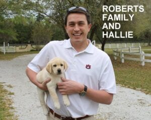The Roberts family and Hallie