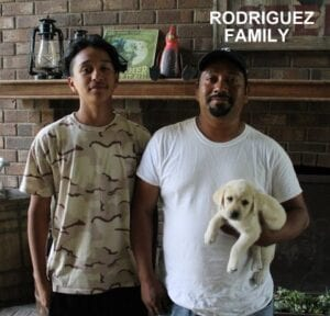 The Rodriguez family