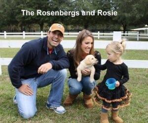 The Rosenberg family and Rosie