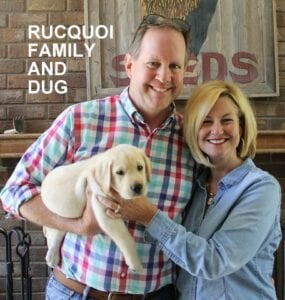 The Rucquoi family and Dug