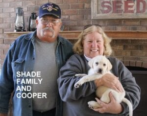 The Shade family and Cooper