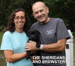 The Sheridan family and Brewster