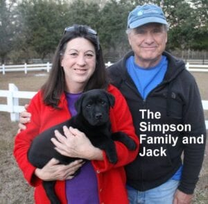 The Simpson family and Jack