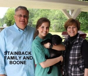The Stainback family and Boone