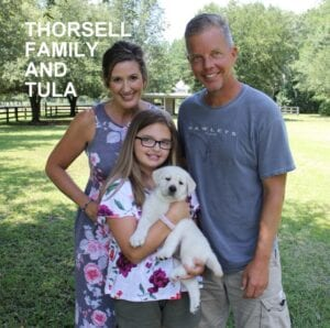The Thorsell family and Tula