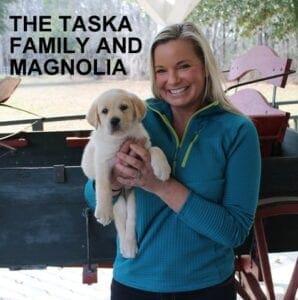 The Taska family and Magnolia