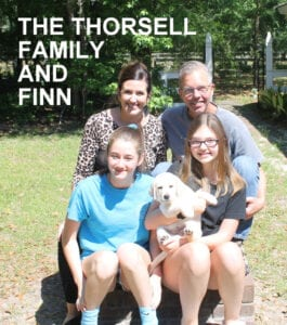 The Thorsell family and Finn