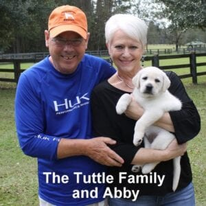 The Tuttle family and Abby