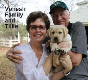 The Vonesh family and Tilly