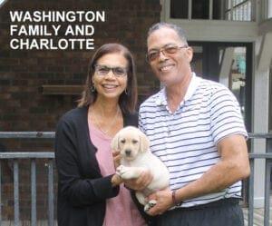 The Washington family and Charlotte