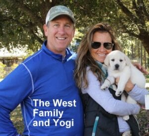 The West family and Yogi