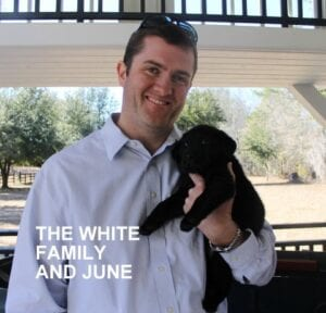 The White family and June