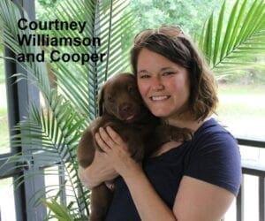 Courtney Williamson and Cooper