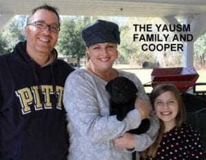 The Yausm family and Cooper