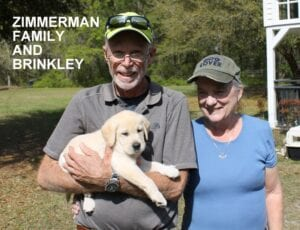 The Zimmerman family and Brinkley
