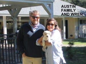 The Austin family and Wren