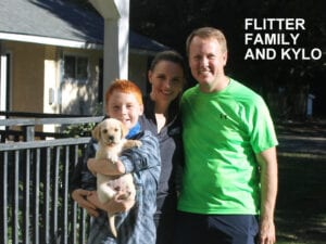 The Flitter family and Kylo