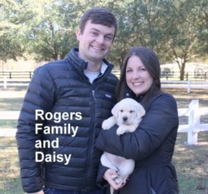 The Rogers family and Daisy