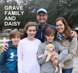 The Grave family and Daisy