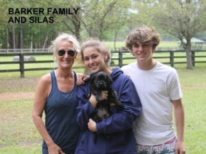 The Barker family and Silas