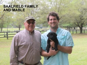 The Saalfield family and Mable