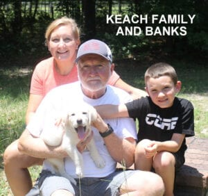 The Keach family and Banks