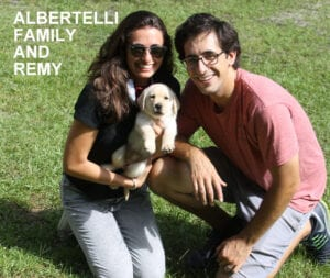 The Albertelli family and Remy