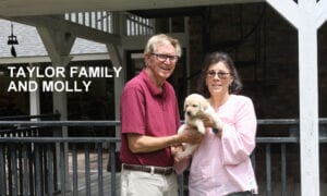 The Taylor family and Molly